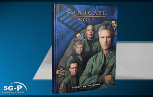 Merchandise - Stargate SG-1 Roleplaying Game Core Rulebook (AEG) - 1 Teaser