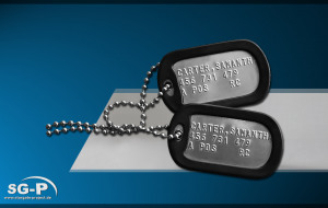Merchandise - Stargate - Dogtag Set - Samantha Carter