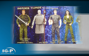 Merchandise - Diamond Select - Stargate SG-1 - Series 3 - Mitchell - Ori-Prior - Jackson - Vala
